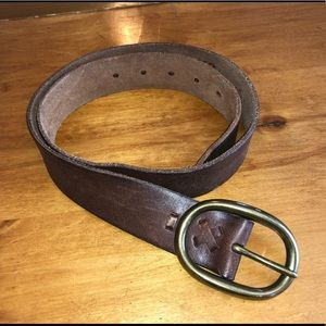 Mossimo Brown Leather Belt